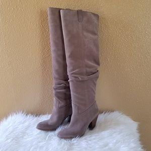 Michael Kors Divia Suede Boots 5.5